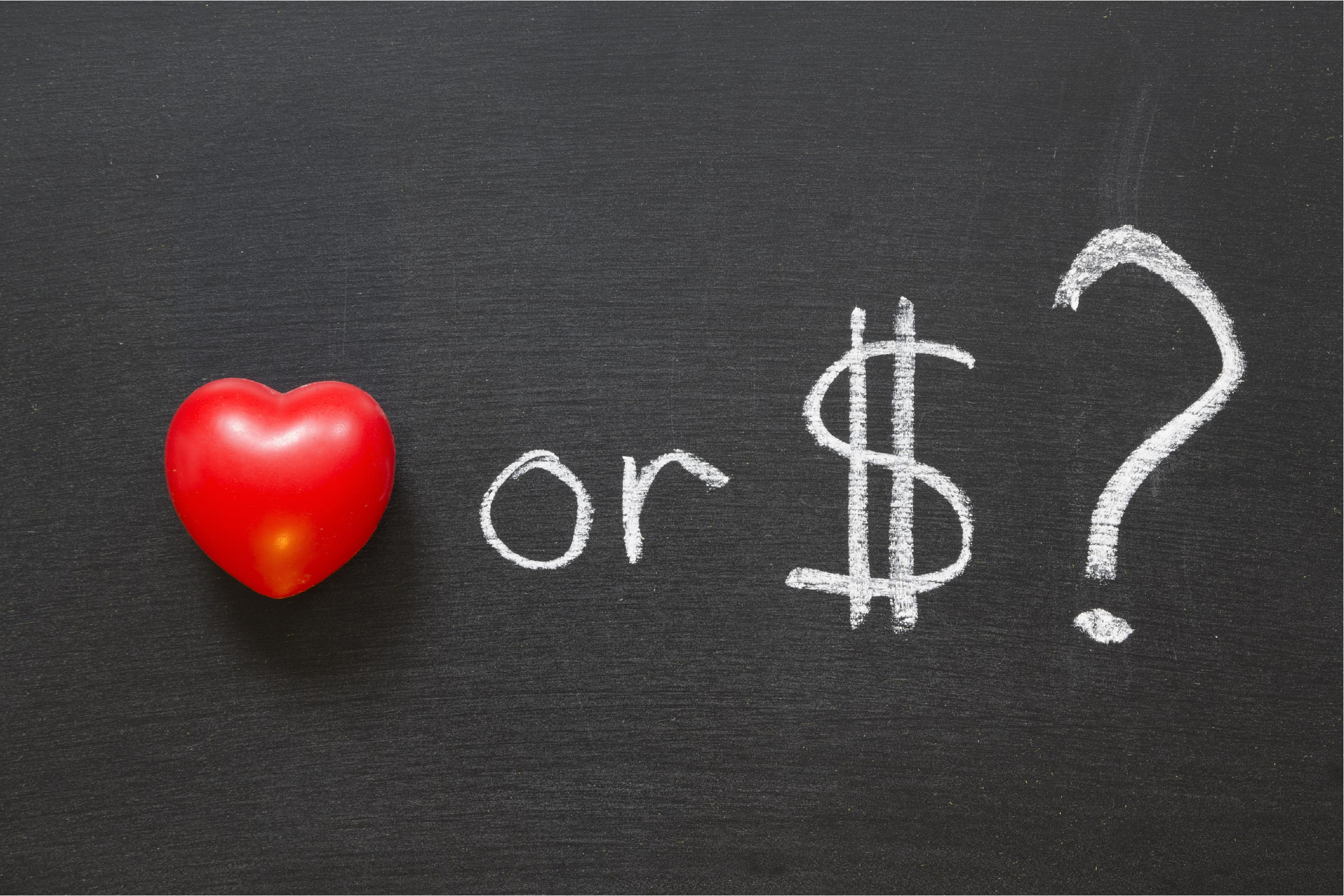 For Love or (of) Money